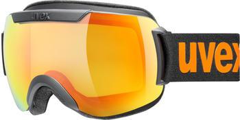 Uvex Downhill 2000 CV black mat/orange yellow