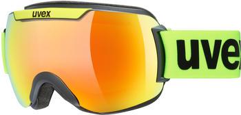 Uvex Downhill 2000 CV black mat lime/orange green