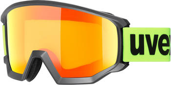Uvex Athletic CV black mat/orange yellow