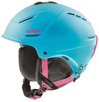 uvex-unisex-skihelm-p1us-cyan-pink-matt
