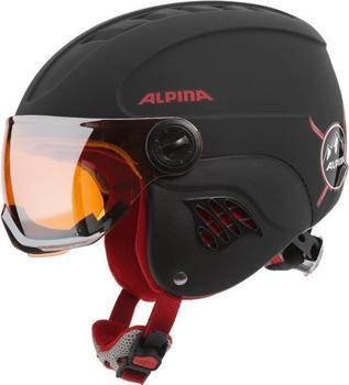 Alpina Carat LE Visor HM black-red matt