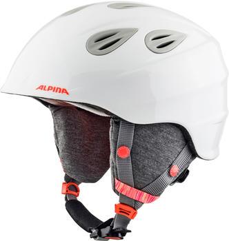 Alpina Grap 2.0 Junior white/flamingo