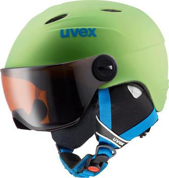 Uvex Junior Visor Pro applegreen mat
