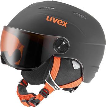 Uvex Junior Visor Pro black/orange mat