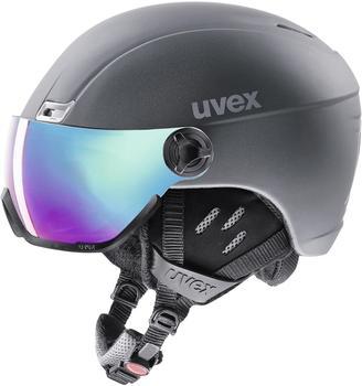 Uvex HLMT 400 Visor Style titanium mat
