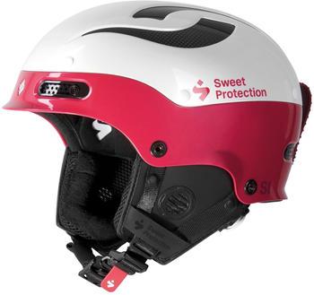 Sweet Protection Trooper II SL Helmet W gloss white/rubus red