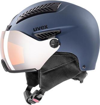 Uvex HLMT 600 Visor (2020) blue mat