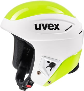 Uvex Race + white/lime