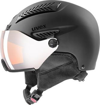 Uvex HLMT 600 Visor (2020) black matte