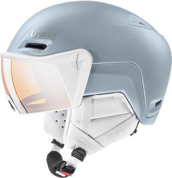 Uvex HLMT 700 Visor (2020) dust blue matte