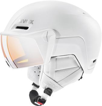 Uvex HLMT 700 Visor (2020) white matte
