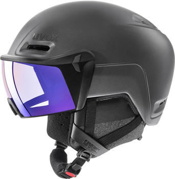 Uvex HLMT 700 Visor Vario (2020) black/blue matte
