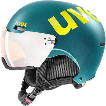 Uvex HLMT 500 Visor emerald green matte
