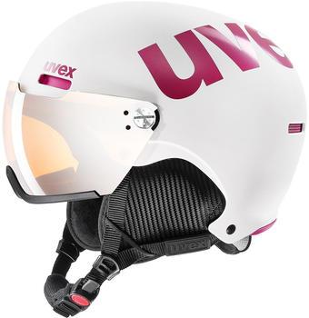 Uvex HLMT 500 Visor white/pink matte