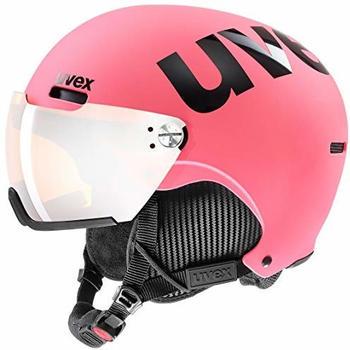 Uvex HLMT 500 Visor pink/black