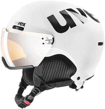 Uvex HLMT 500 Visor white-black mat