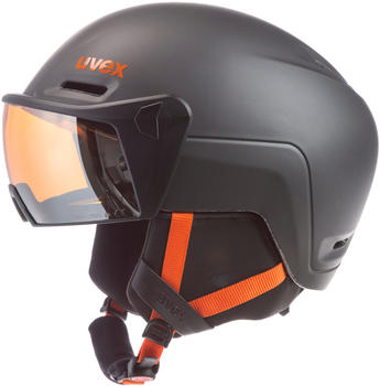 Uvex HLMT 700 Visor dark slate-orange