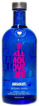 Absolut LOVE limited Edition pink 0,7l 40%