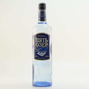 Dovgan Five Lakes Special Siberian Vodka 40% 1,0 l