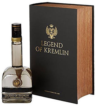 Legend of Kremlin Russian Vodka De Luxe Black Book 0,7l 40%