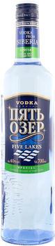 Dovgan Five Lakes Special Siberian Vodka 40% 0,7 l