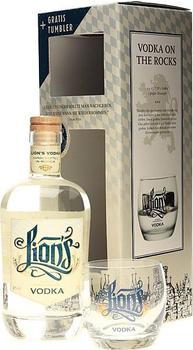 The Duke Lion's Vodka Bio 42% 0,7l + Geschenkset mit Tumbler