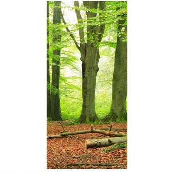 Apalis Raumteiler inkl. transparenter Halterung Mighty Beech Trees grün