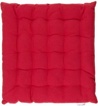 Scantex Solo Sitzkissen rot (40 x 40 cm)
