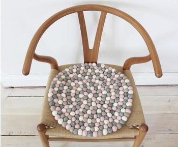 WOOLDOT Mixed Color 40cm rosa-grau