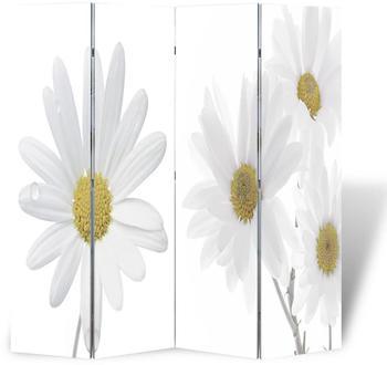 vidaXL Foldable Room Divider Flowers 160 x 170 cm