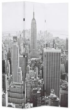 vidaXL Foldable Partition New York 120 x 170 cm