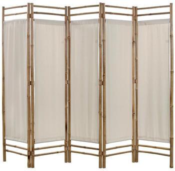 vidaXL Foldable Partition Bambou 200 x 160 cm