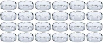 spetebo-glas-aschenbecher-rund-10cm-24-stueck