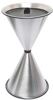 SZ Metall spitzer Kegel (71 x 40 cm) silber
