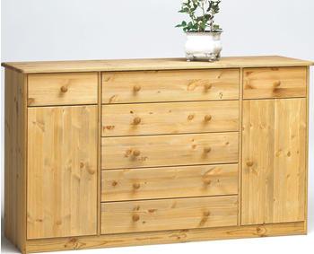 Steens Mario 031/19 Sideboard natur lackiert 2 Türen 2+5 Schubladen