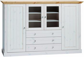 Steens Highboard weiß hellbraun (3170390288001F)