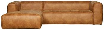 Woood Bean eckcouch links cognac (375689-C)