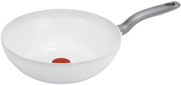 Tefal Ceramiccontrol White Induction Wokpfanne 28 cm