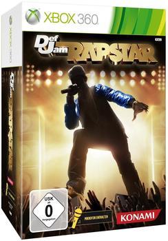 Konami Def Jam Rapstars + Mikrofon (Xbox 360)