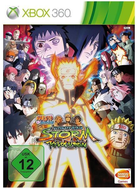 Naruto Shippuden: Ultimate Ninja Storm Revolution (xBox 360)