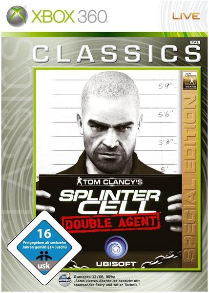 Tom Clancy's Splinter Cell: Double Agent - 10 Years of Gaming Special Edition (Xbox 360)