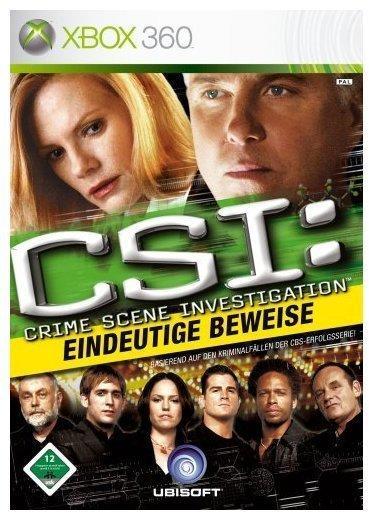 UbiSoft CSI: Crime Scene Investigation - Eindeutige Beweise (Xbox 360)