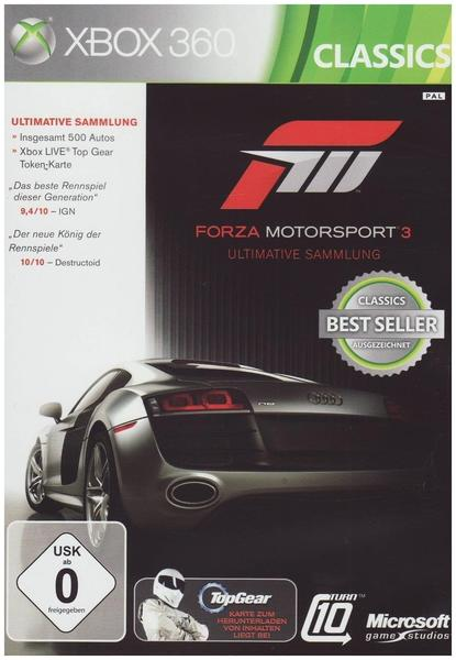 Forza Motorsport 3: Ultimative Collection (Xbox 360)