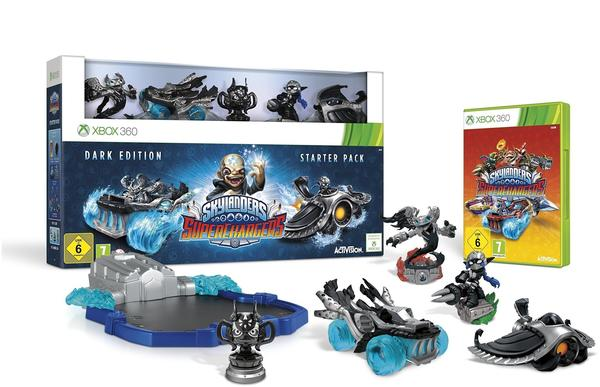 Skylanders: Superchargers - Dark Edition Starter Pack (Xbox 360)