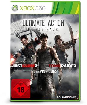 Square Enix Ultimate Action Triple Pack: Just Cause 2Sleeping DogsTomb Raider (Bundle) (Xbox 360)