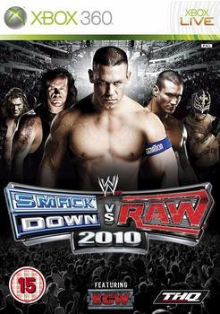 THQ WWE SmackDown vs. Raw 2010 (PEGI) (Xbox 360)