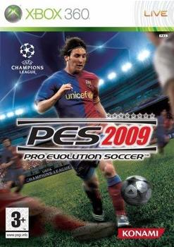 Konami Pro Evolution Soccer 2009 (PEGI) (Xbox 360)