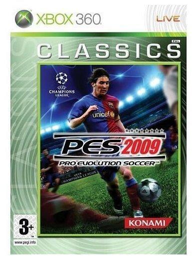 Konami Pro Evolution Soccer 2009 (Classics) (Xbox 360)