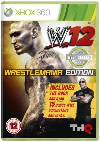 WWE '12: Wrestlemania Edition (Xbox 360)