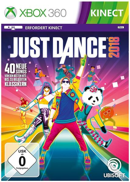 UbiSoft Just Dance 2018 (Xbox 360)